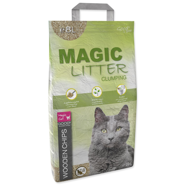 Kočkolit Magic Litter Wooden Chips 8L