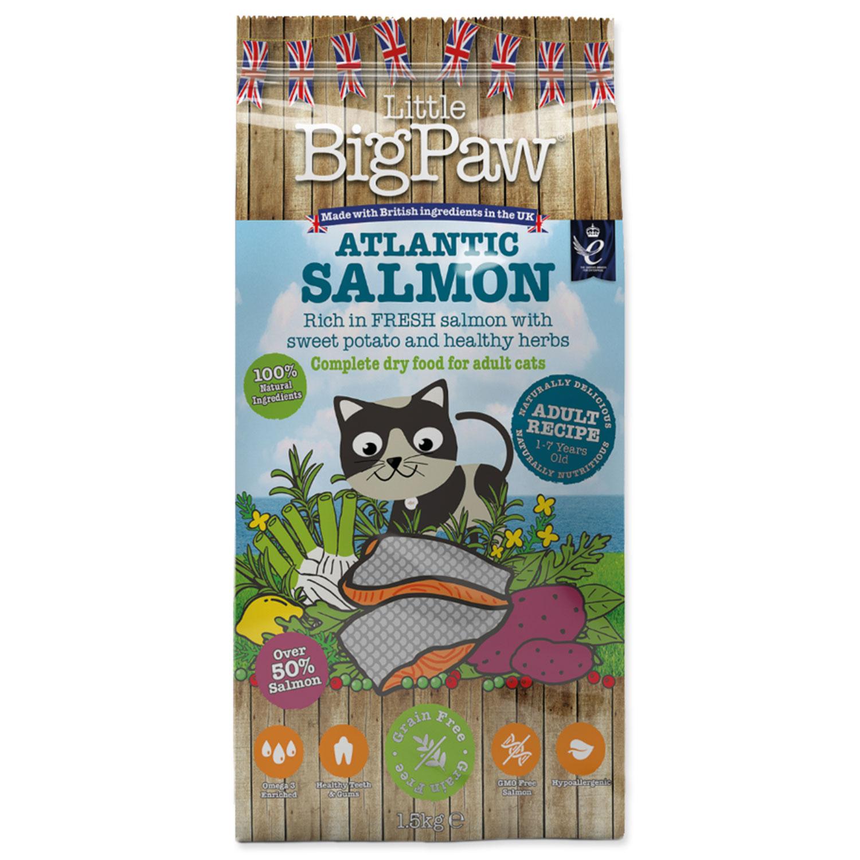 Krmivo LITTLE BIGPAW Cat Adult losos 1.5kg