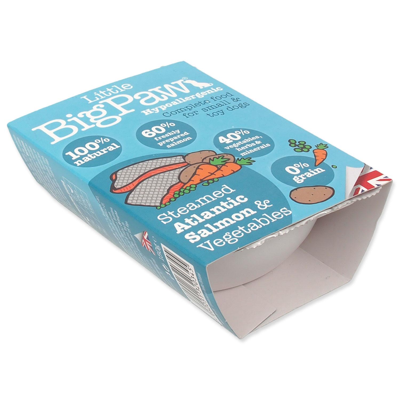 Vanička LITTLE BIGPAW Dog losos & zelenina