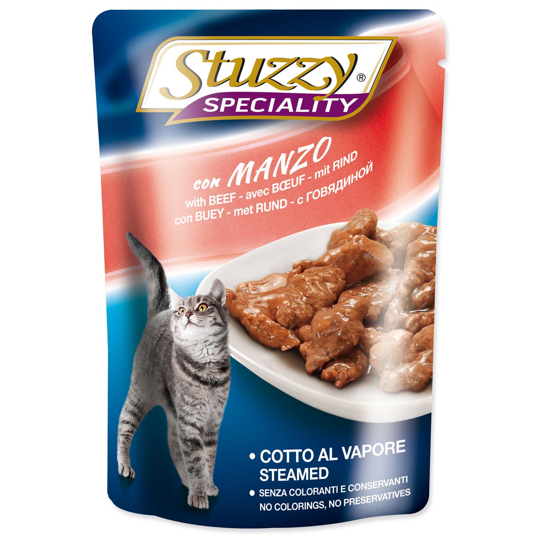 Kapsička STUZZY Cat Speciality hovězí 100g