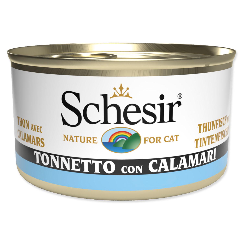 Konzerva SCHESIR tuňák + chobotnice v želé