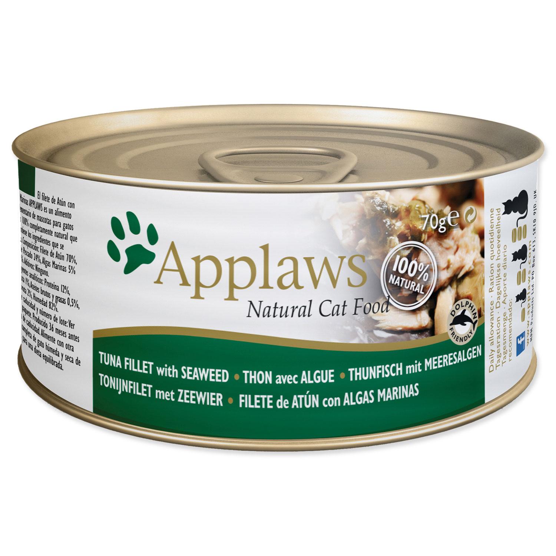 Konzerva APPLAWS Cat Tuna Fillet & Seaweed