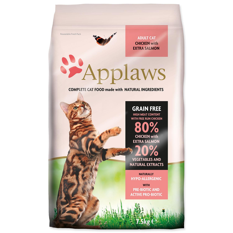 APPLAWS Dry Cat Chicken & Salmon 7.5kg