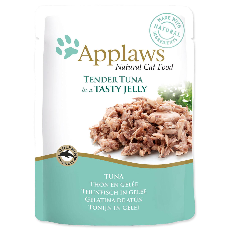 Kapsička APPLAWS Cat Pouch Tuna Wholemeat in Jelly