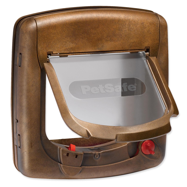 Dvířka PETSAFE hnědá magnetická 420