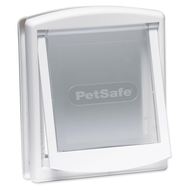 Dvířka PETSAFE bílá s transparentním flapem 715