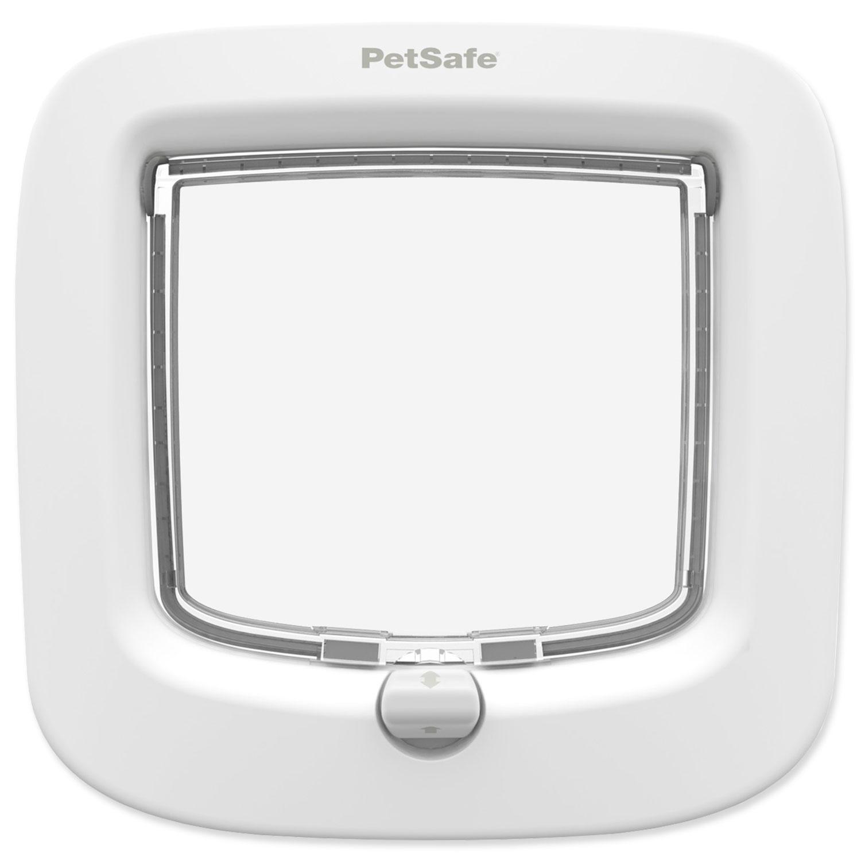 Dvířka PETSAFE plastová bílá s transparentním flapem