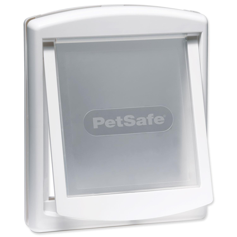 Dvířka PETSAFE bílá s transparentním flapem 740