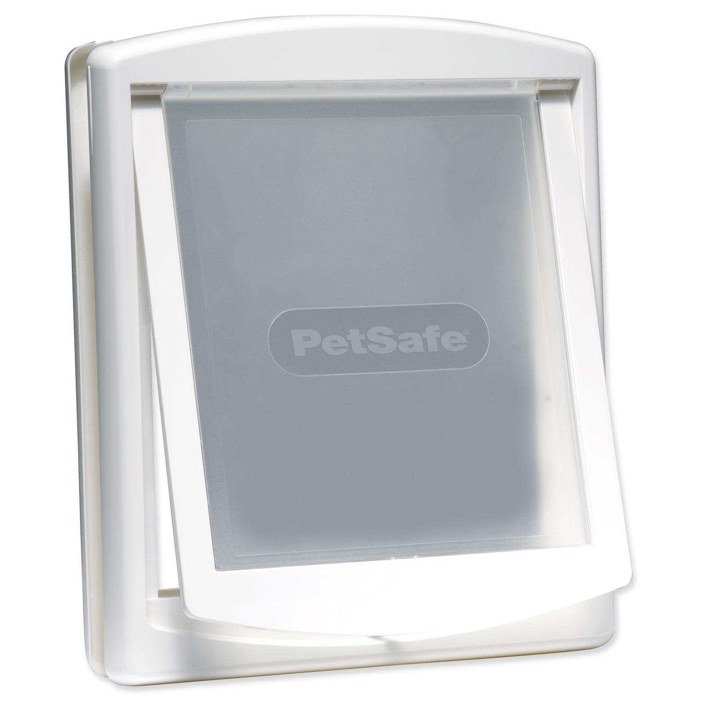 Dvířka PETSAFE bílá s transparentním flapem 760