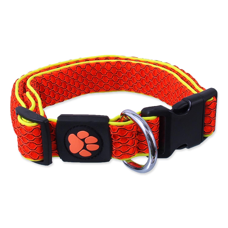 Obojek ACTIVE DOG Mellow oranžový M
