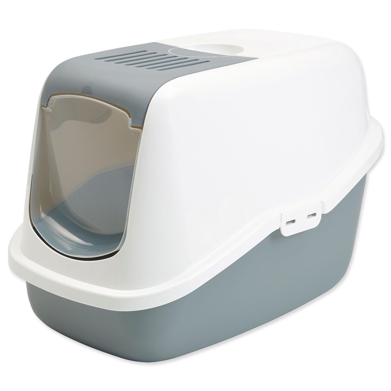 Toaleta SAVIC Nestor bílo-šedá 56 cm