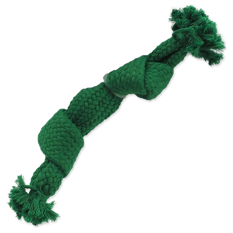 Uzel DOG FANTASY zelený pískací 2 knoty 22 cm