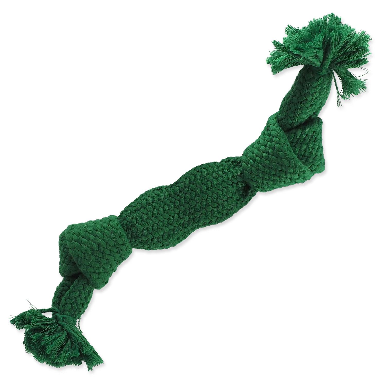 Uzel DOG FANTASY zelený pískací 2 knoty 35 cm