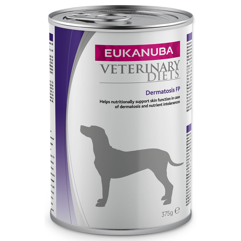 EUKANUBA VD Dermatosis FP Response Formula konzerva