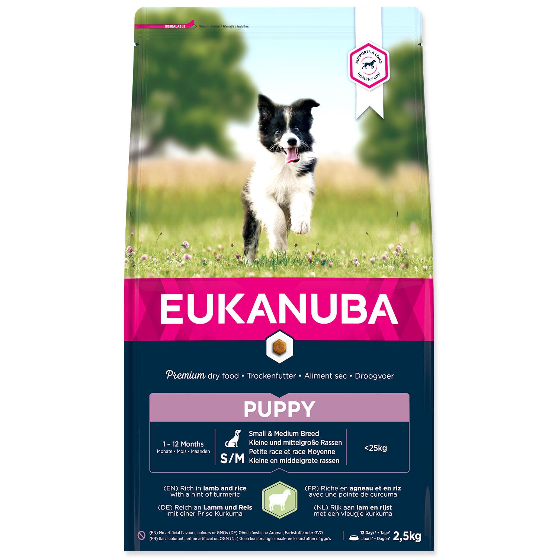 EUKANUBA Puppy Small & Medium Breed Lamb