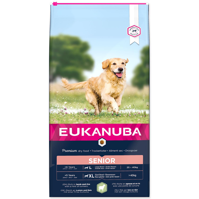 EUKANUBA Senior Large & Giant Breed Lamb
