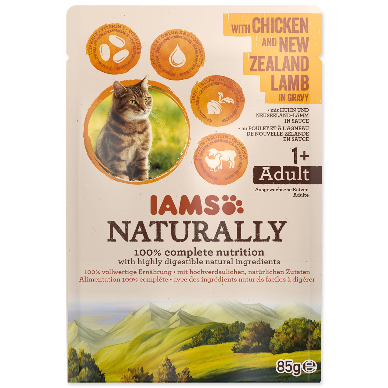 Kapsička IAMS Cat Naturally with Chicken & New Zealand Lamb in Gravy