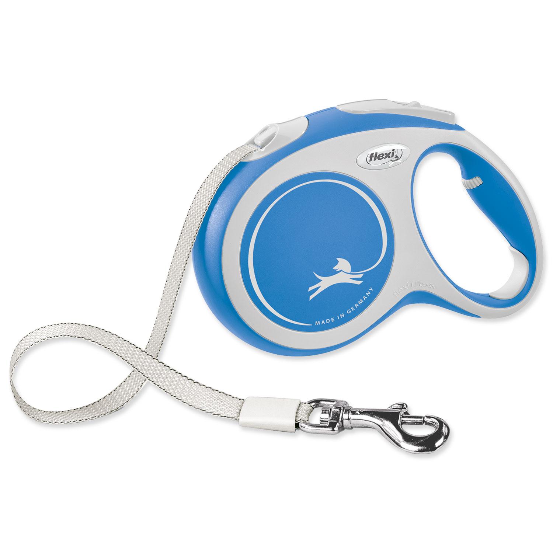 Vodítko FLEXI New Comfort páska modré L - 5 m