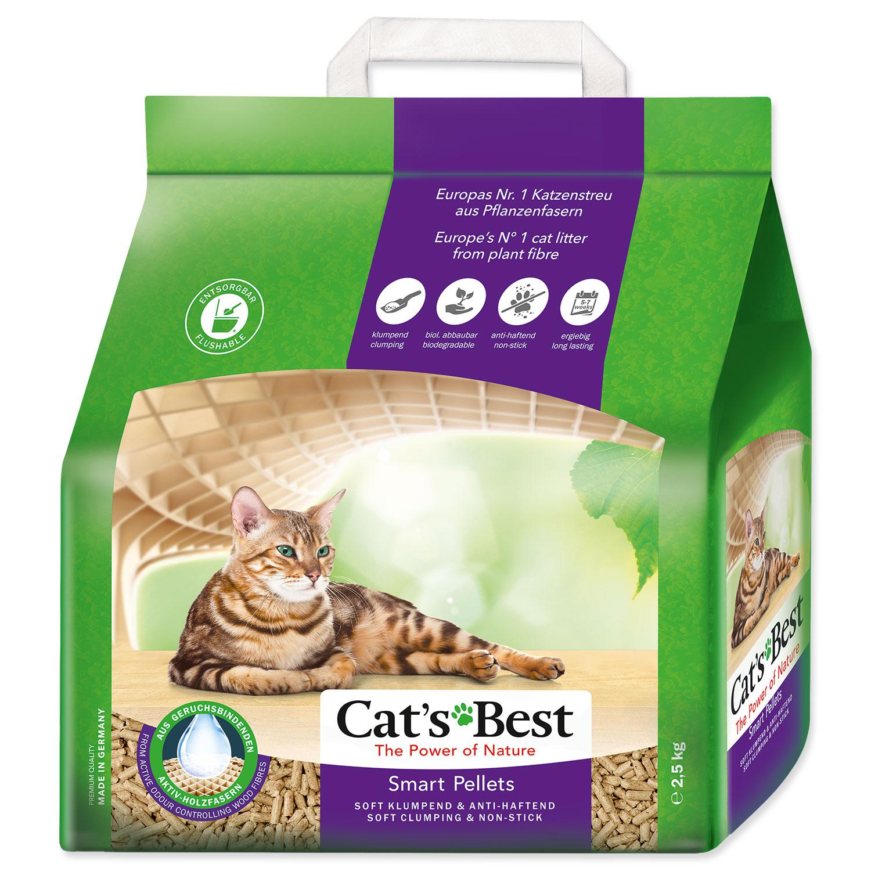 Kočkolit JRS Cat`s Best Smart Pellets 2,5 kg