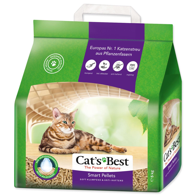 Kočkolit JRS Cat`s Best Smart Pellets 5 kg