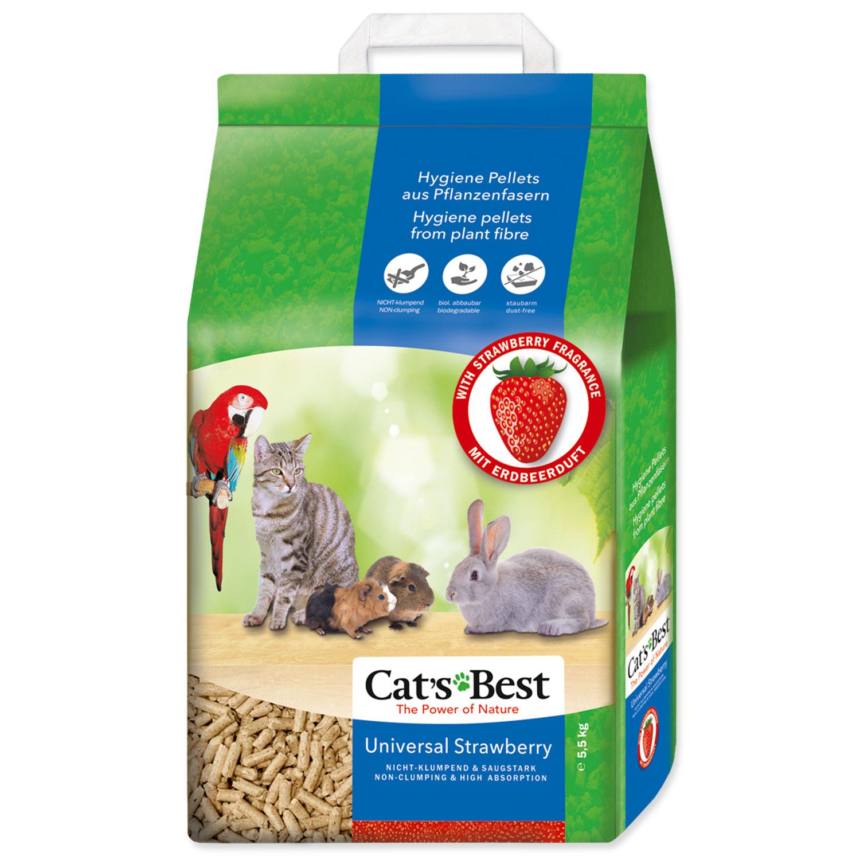 Kočkolit JRS Cat's Best Universal s jahodovou vůní