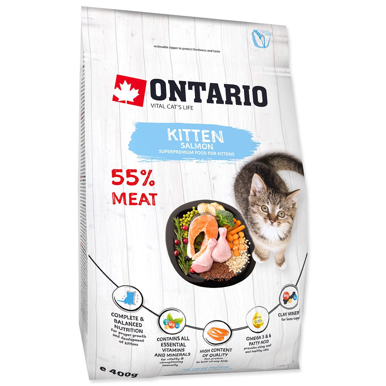 ONTARIO Kitten Salmon 0.4kg