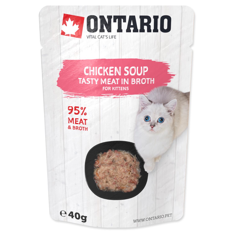 ONTARIO Kitten Soup Chicken, Carrot & Rice