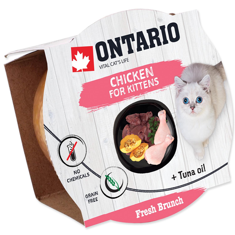 Kalíšek ONTARIO Fresh Brunch Kitten Chicken