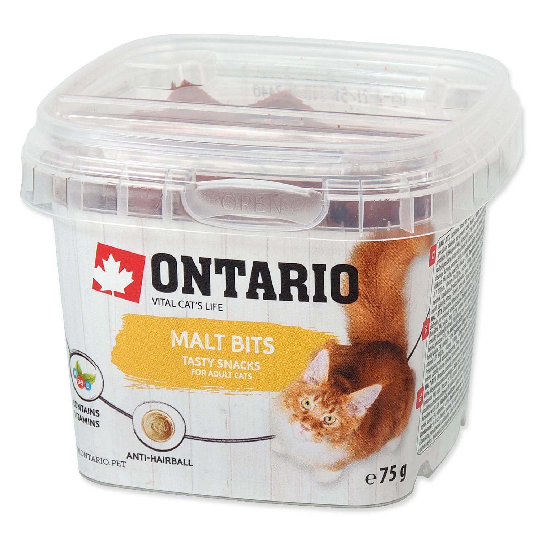 Snack ONTARIO Cat Malt Bits