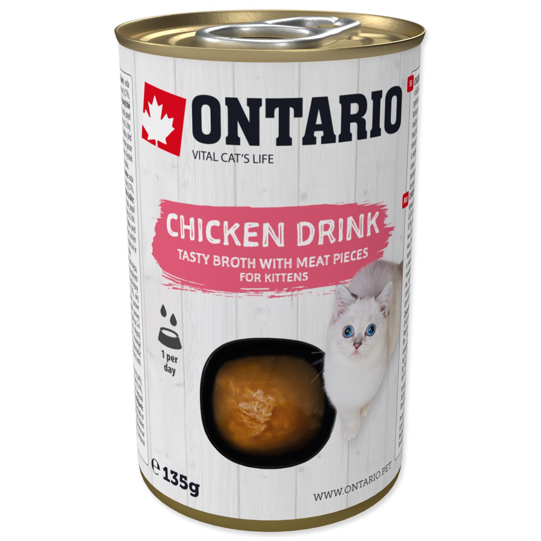 ONTARIO Kitten Drink Chicken