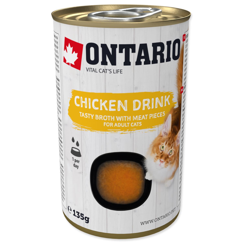 ONTARIO Cat Drink Chicken