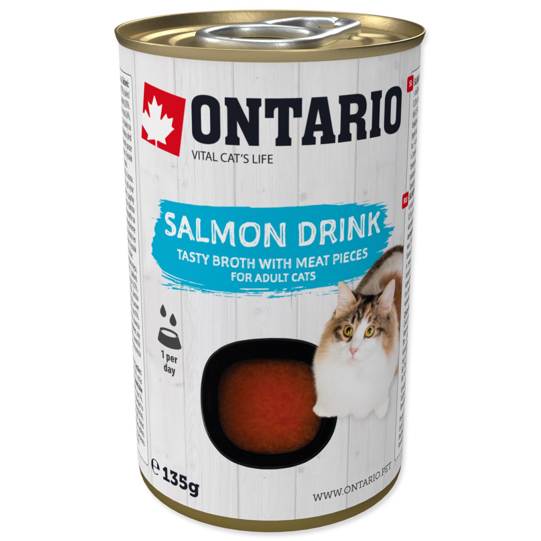 ONTARIO Cat Drink Salmon