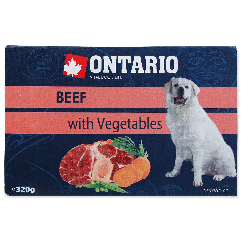 Vanička ONTARIO Dog Beef with Vegetable