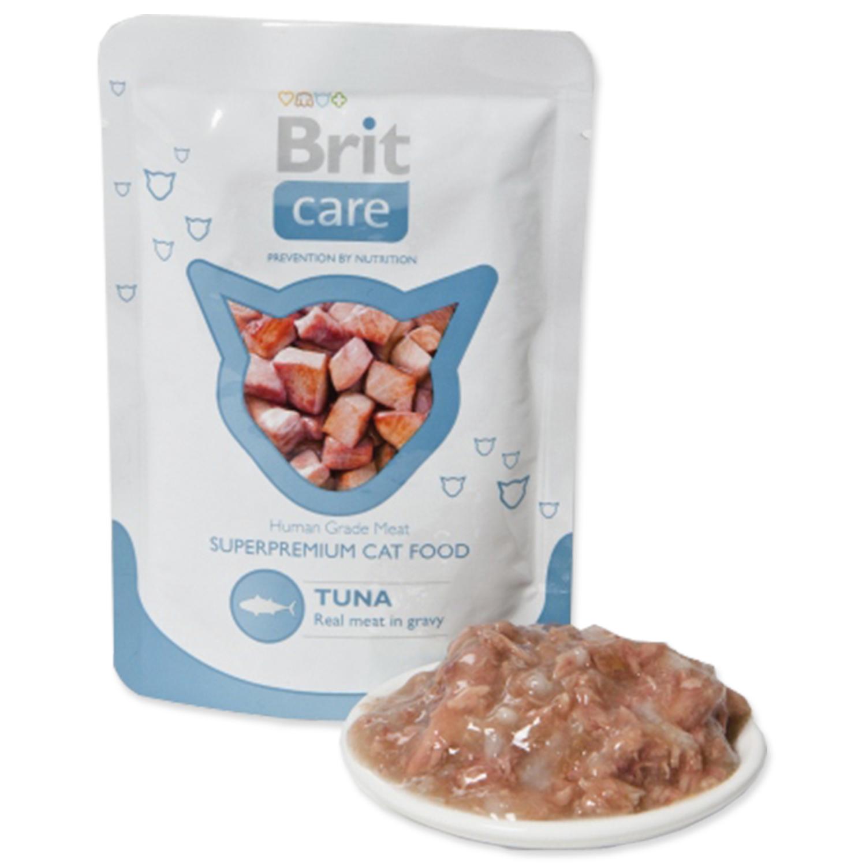 Kapsička BRIT Care Cat Tuna 80g