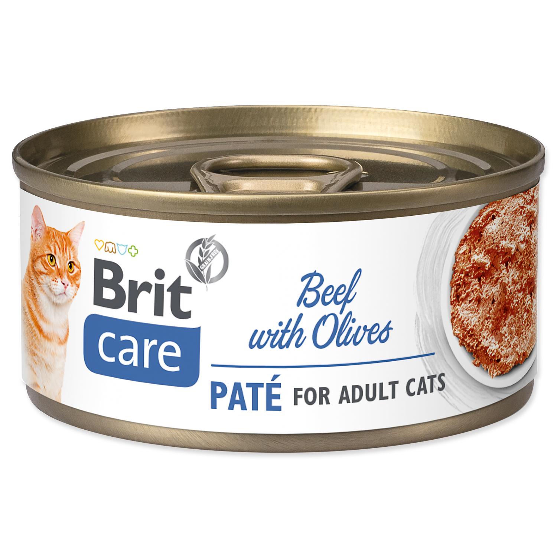 Konzerva BRIT Care Cat Beef Paté with Olives