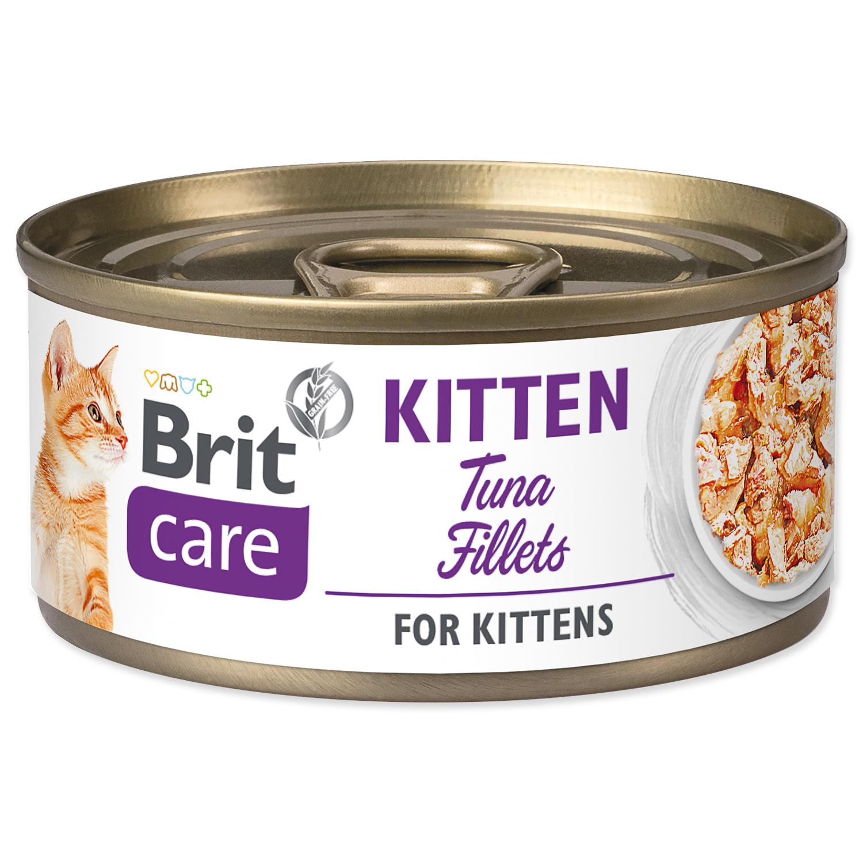 Konzerva BRIT Care Cat Kitten Tuna Fillets
