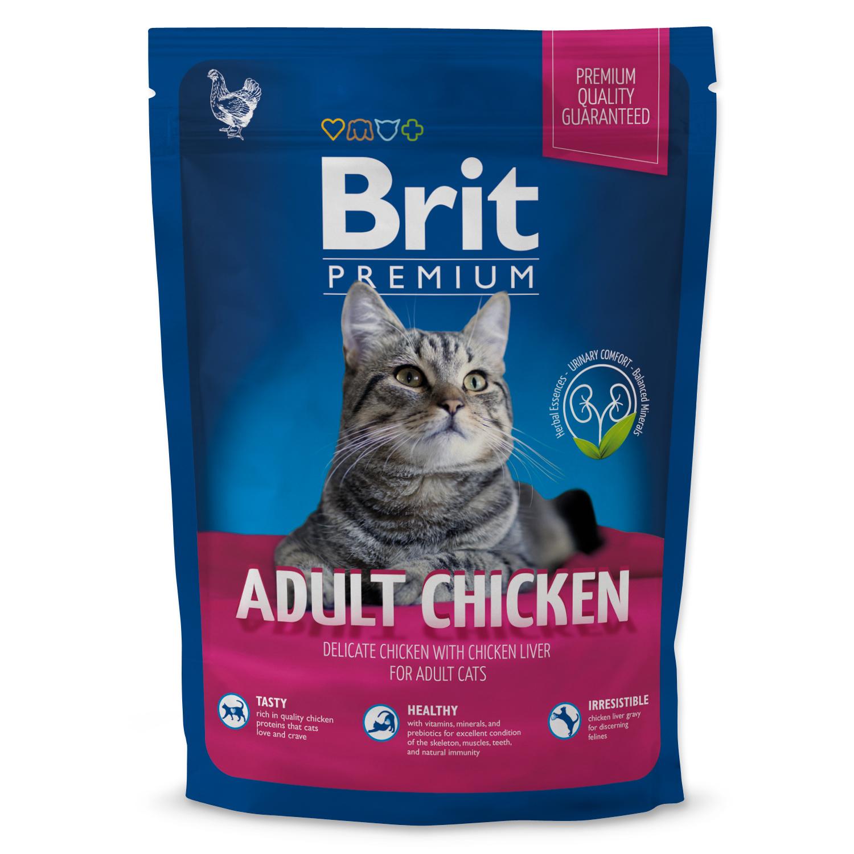 BRIT Premium Cat Adult Chicken 1.5kg