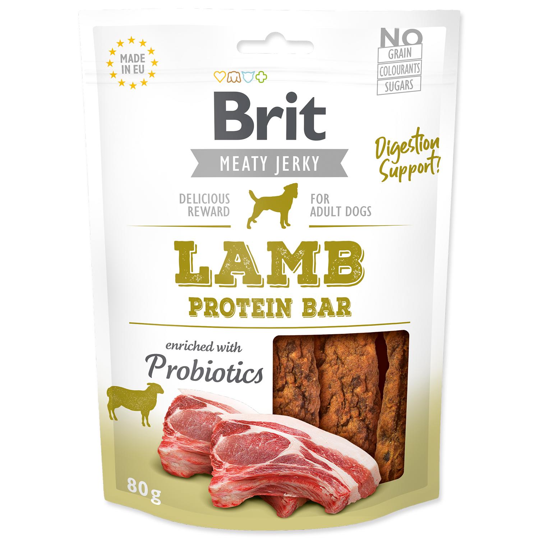 Snack BRIT Jerky Lamb Protein Bar