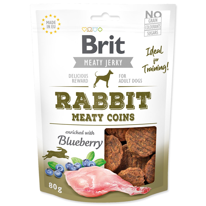Snack BRIT Jerky Rabbit Meaty Coins