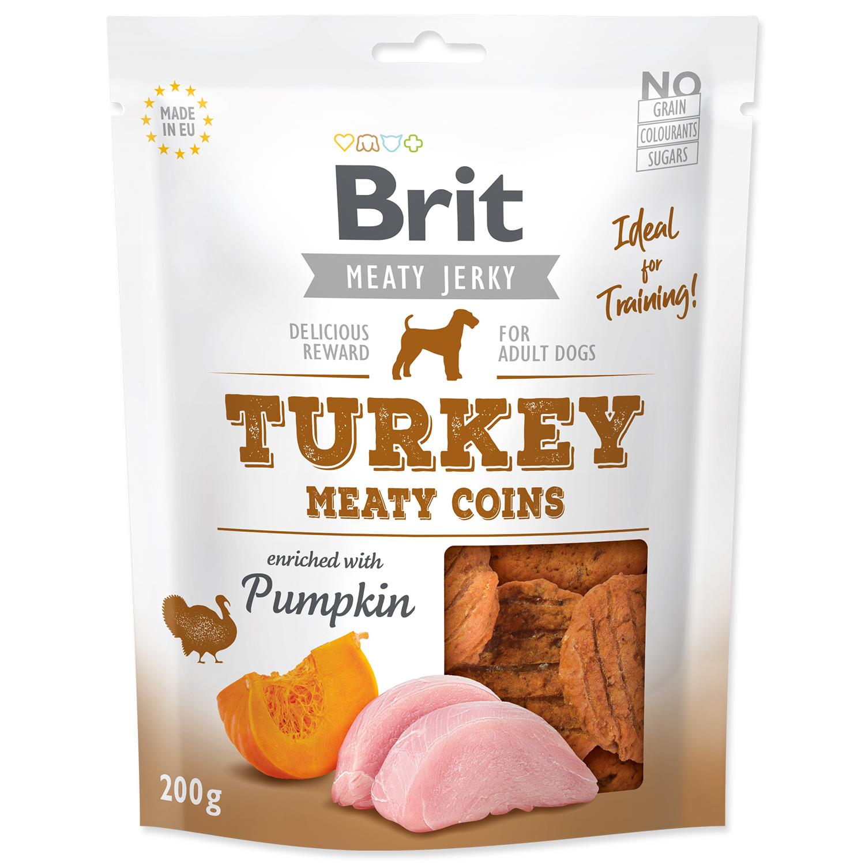 Snack BRIT Jerky Turkey Meaty Coins