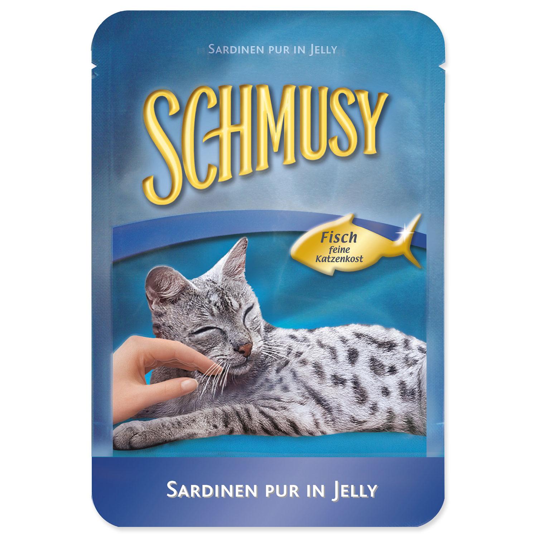 Kapsička SCHMUSY Fish sardinky v želé