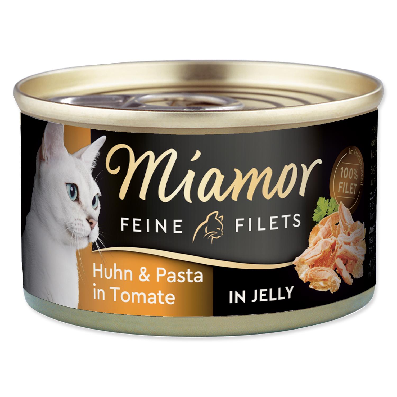 Konzerva MIAMOR Feine Filets kuře + těstoviny v želé