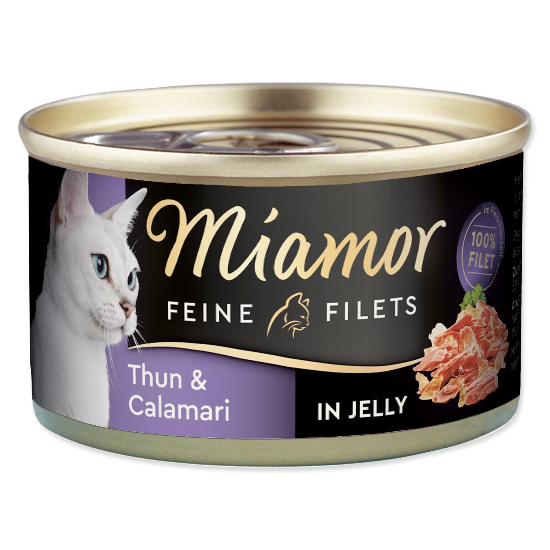 Konzerva MIAMOR Feine Filets tuňák + kalamáry v želé