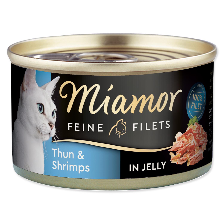 Konzerva MIAMOR Feine Filets tuňák + krevety v želé