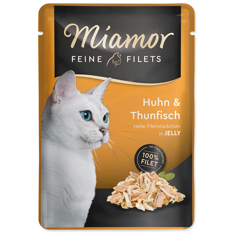 Kapsička MIAMOR Feine Filets kuře + tuňák v želé