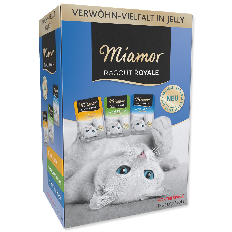 Kapsičky MIAMOR Ragout Royale kuře, tuňák, králík v želé multipack
