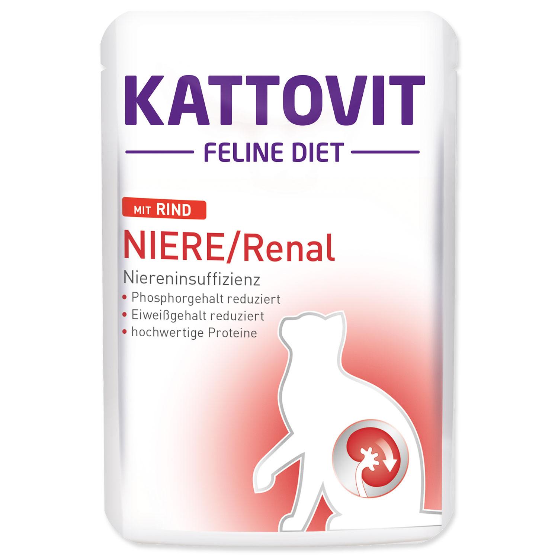 Kapsička KATTOVIT Niere / Renal hovězí 85g