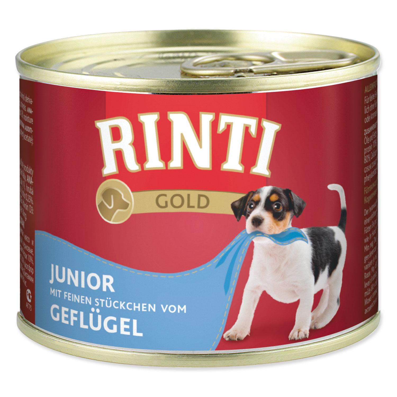 Konzerva RINTI Gold Junior drůbeží