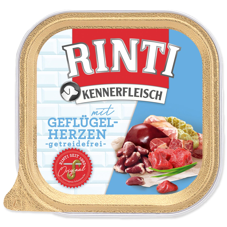 Vanička RINTI Kennerfleisch drůbeží srdíčka + nudle