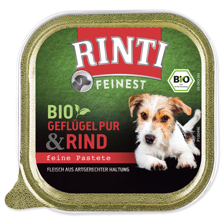 Vanička RINTI Bio hovězí